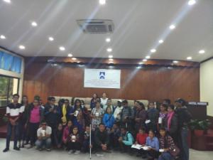 Distribution and Orintaion program at Kathmandu