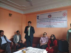 Monitoring by representative of Kathmandu Municipality